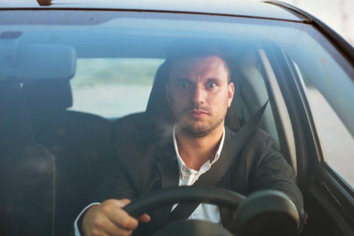 事故のトラウマ運転怖い